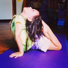 King Cobra pose, Lil' Asana, August 2014
